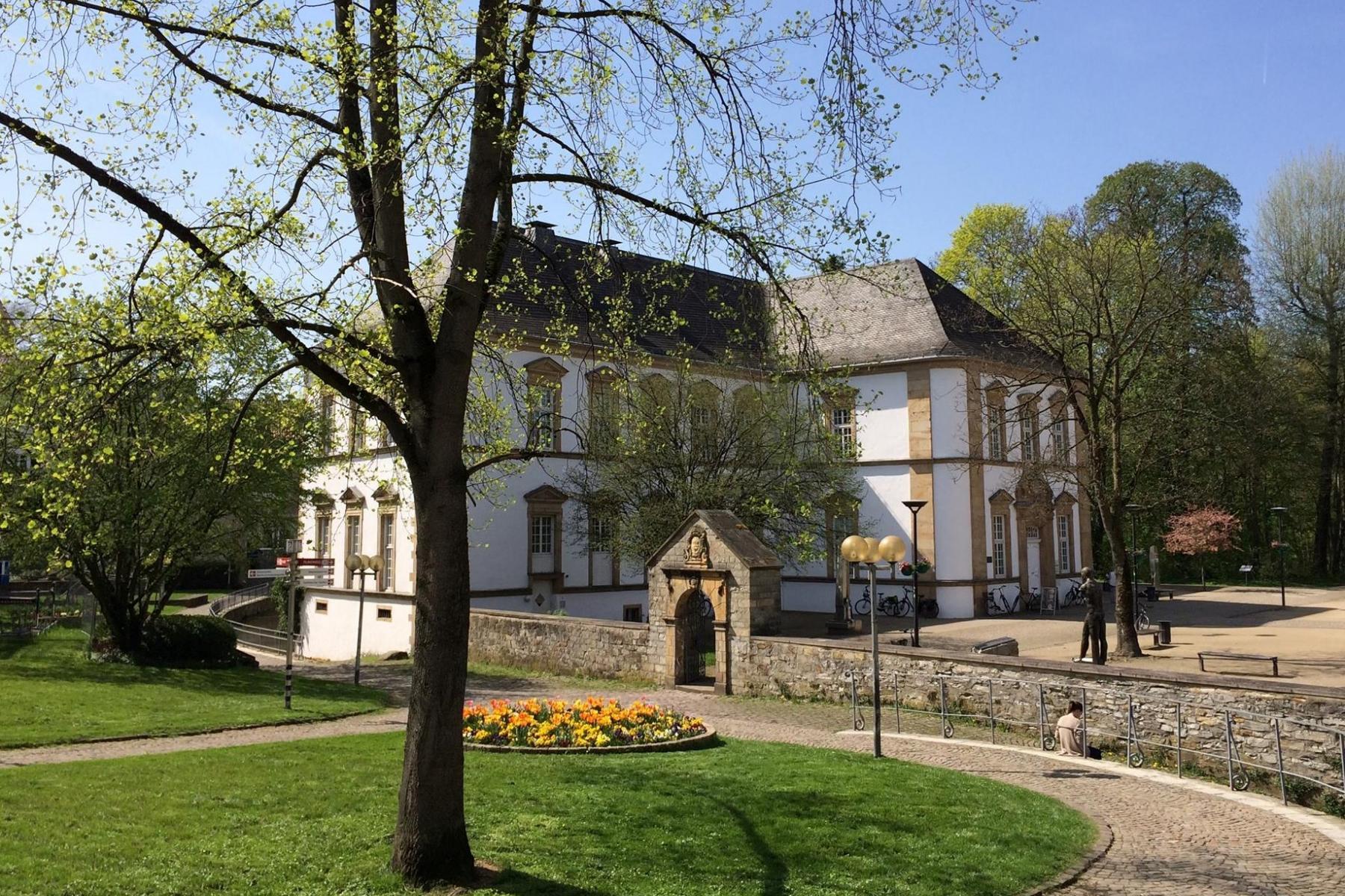 Stadtbibliothek Paderborn von außen