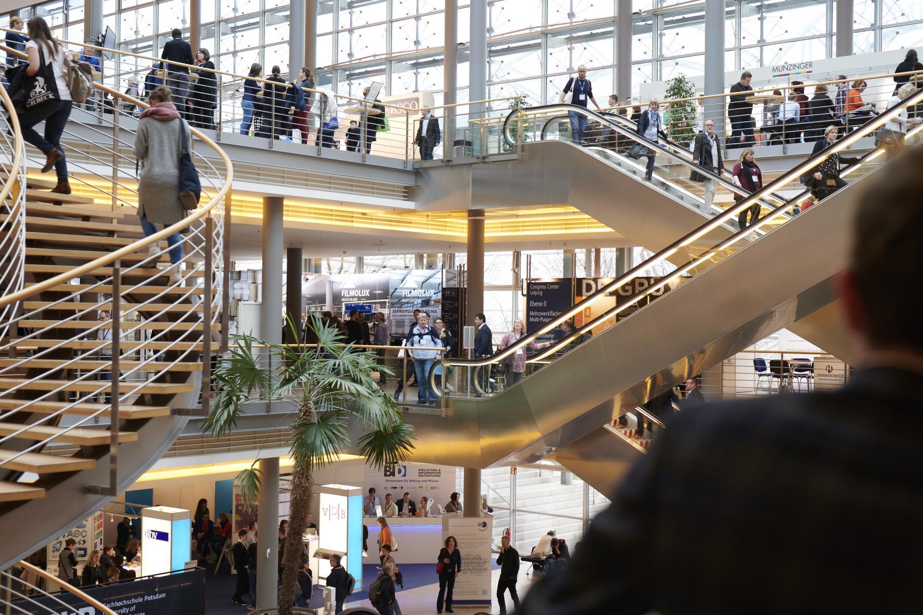 Kongressgebäude Leipziger Bibliothekskongress