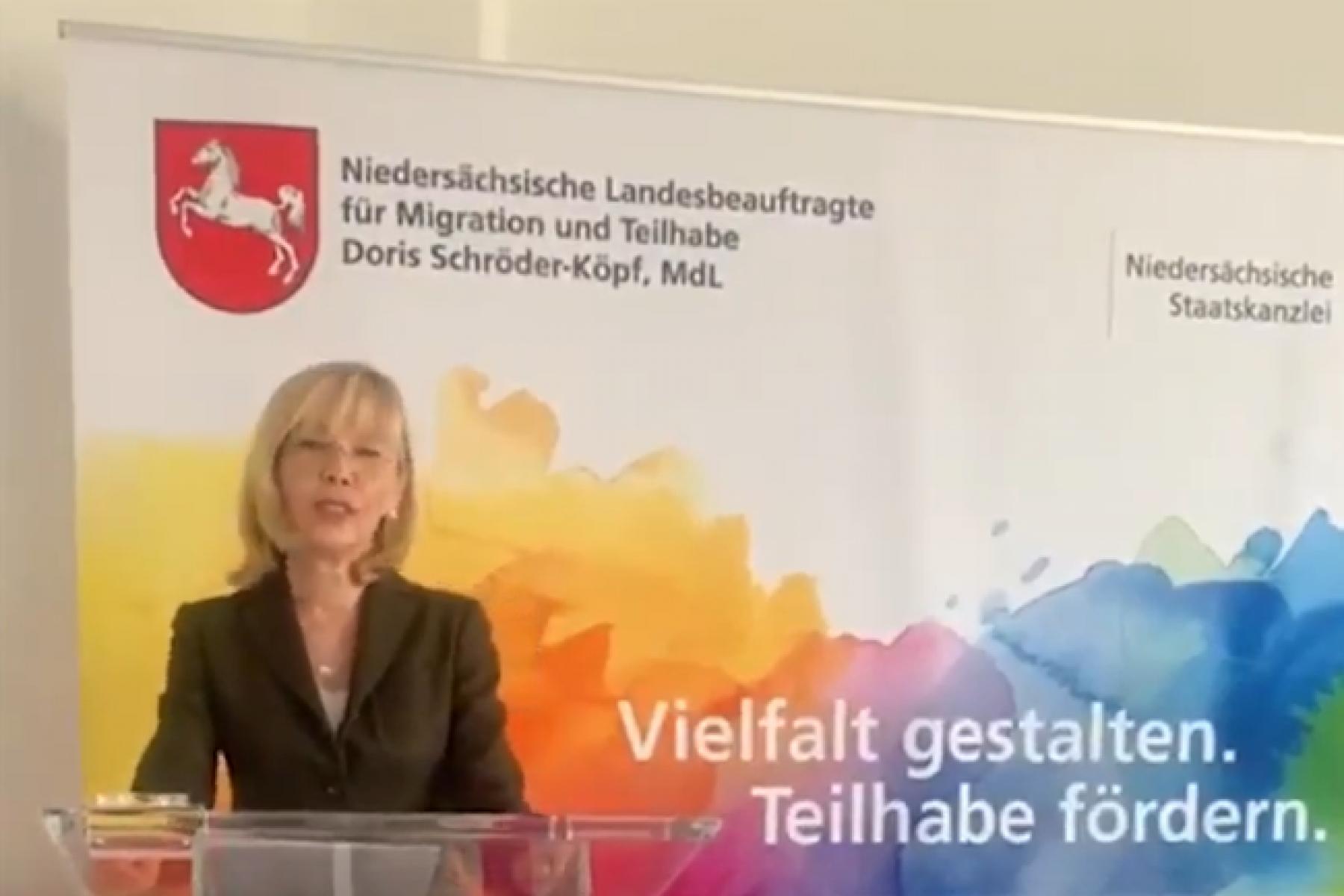 Videostill Doris Schröder-Köpf