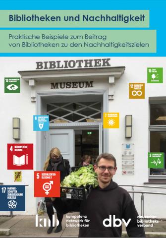 Cover der Broschüre Nachhaltgkeit