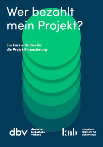 Cover des Leitfadens Projektfinanzierung
