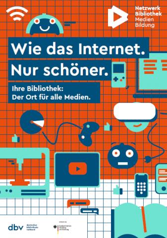 Plakat Wie das Internet