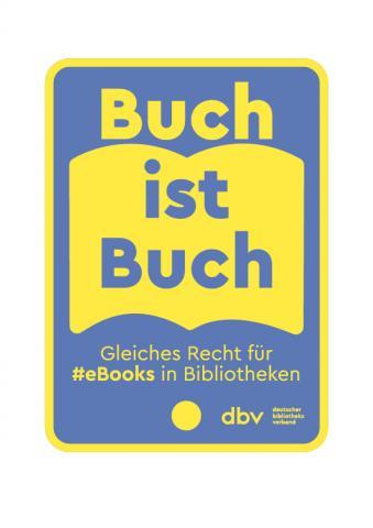 Logo Buch ist Buch