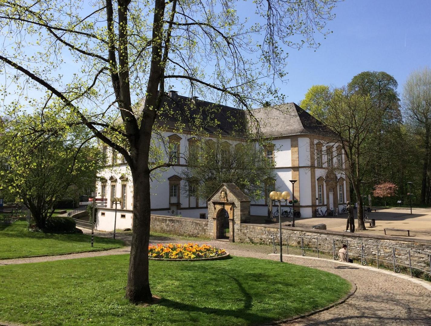 Außenansicht der Stadtbibliothek Paderborn