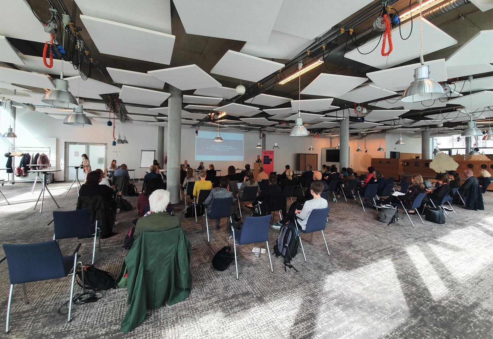 Beiratssitzung des dbv in Berlin im September 2021