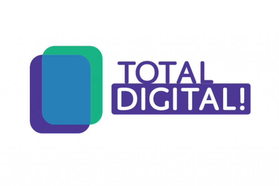 Logo des Programms Total Digital