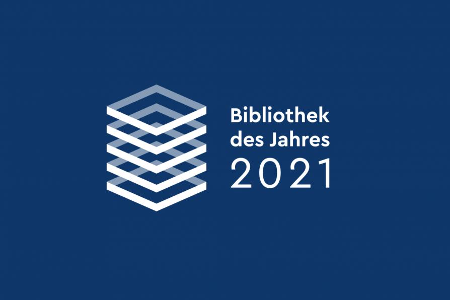 Logo Bibliothek des Jahres 2021