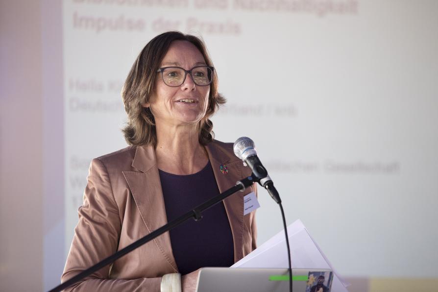 Hella Klauser IFLA-Vortrag