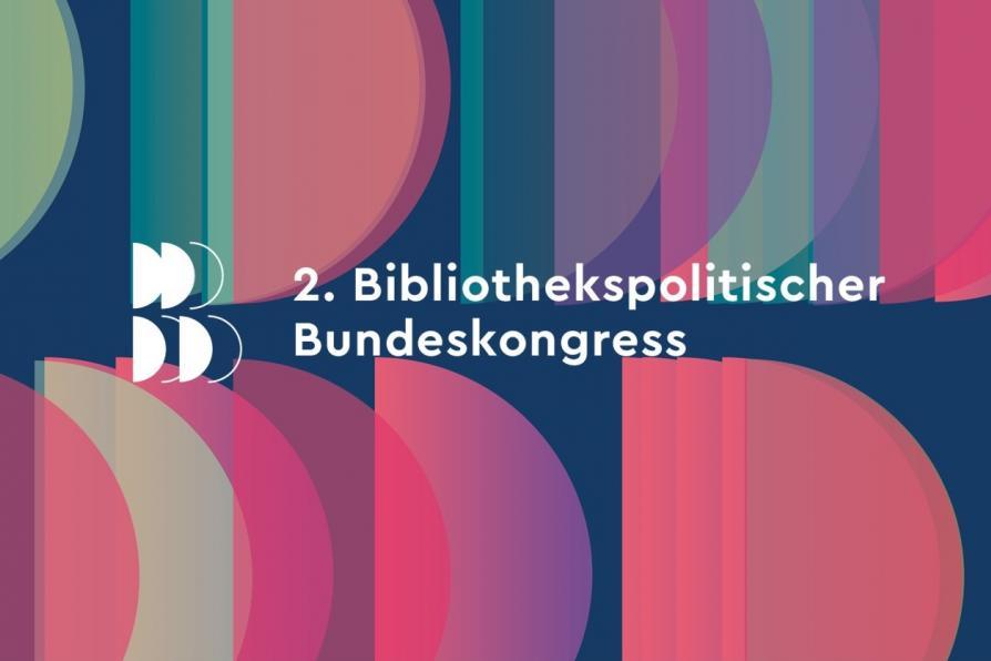 Logo des Bibliothekspolitischen Bundeskongress 2021
