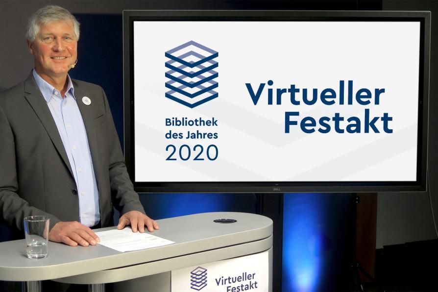 Virtulee Preisverleihung Bibliothek des Jahres 2020