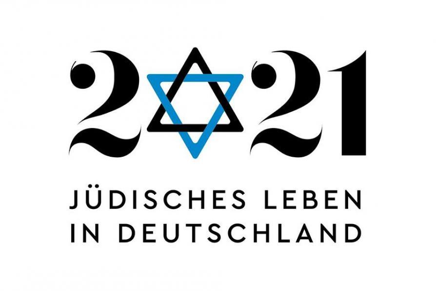Logo Festjahr 2021 Jüdisches Leben in Deutschland
