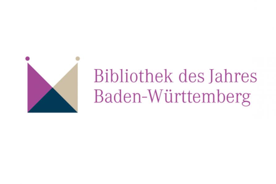 Logo Bibliothek des Jahres Baden-Württemberg