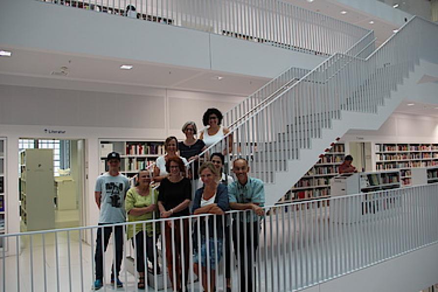 Gruppenbild der Fackommission Bibliothekspädagogik Baden-Württemberg