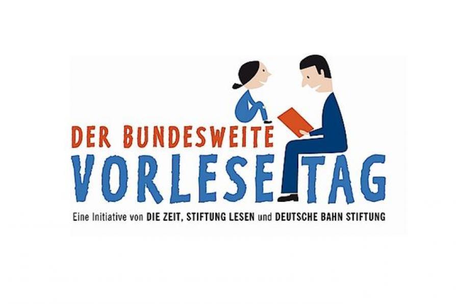 Logo des Bundesweiten Vorlesetages
