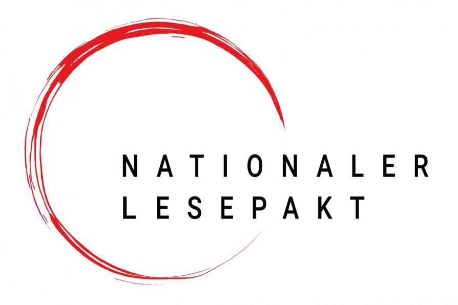 Logo des Nationalen Lesepaktes