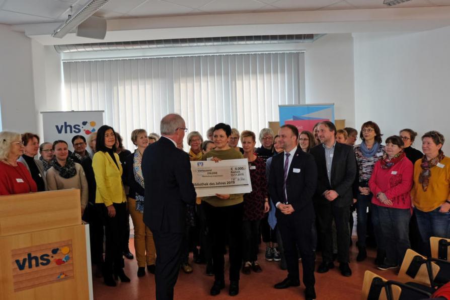 Preisübergabe der Bibliothek des Jahres 2019 in Mecklenburg-Vorpommern