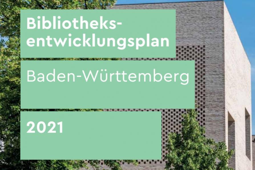 Cover des Bibliotheksentwicklungsplanes Baden-Württemberg