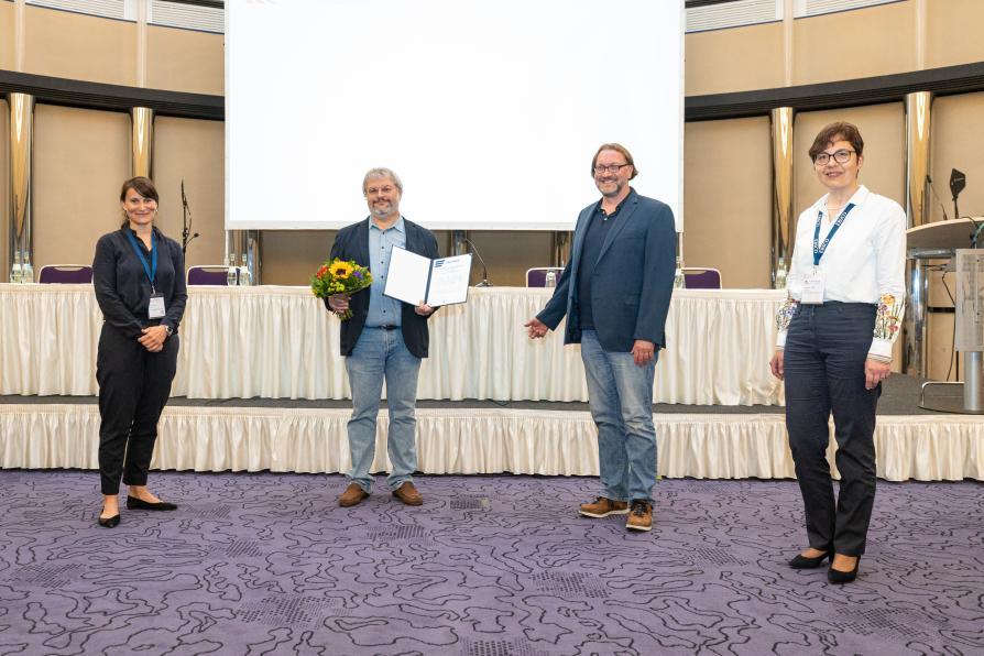 Verleihung Publizistenpreis an Aexander Maier